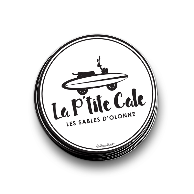 STICKER - La p\'tite cale