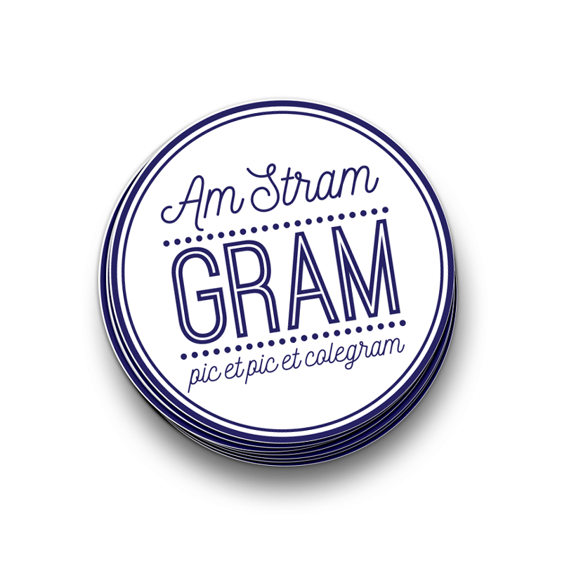 Stickers - Am Stram Gram