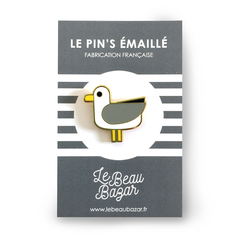 PIN\'S - Mouette