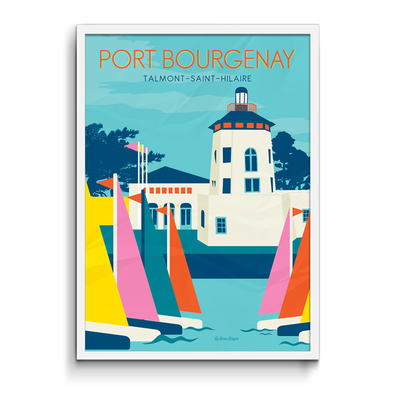 Affiche - Port Bourgenay