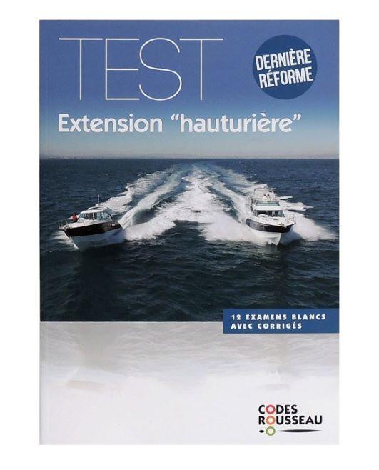 Test Extension Hauturière Code Rousseau