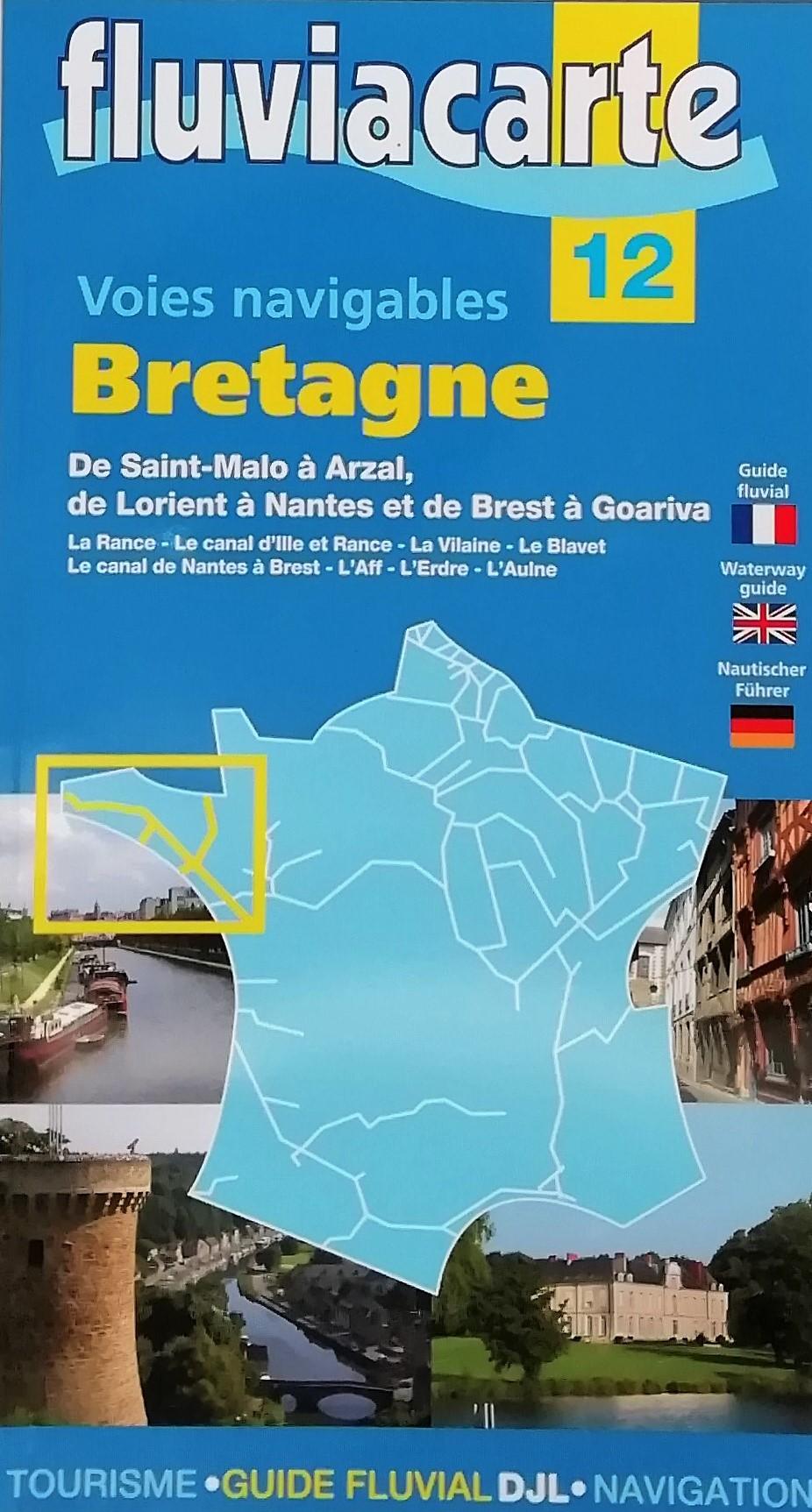 Fluviacarte-Voies navigables de Bretagne