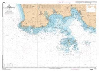 Carte marine SHOM 7146L-De la pointe de penmarc'h à la pointe de Trévignon
