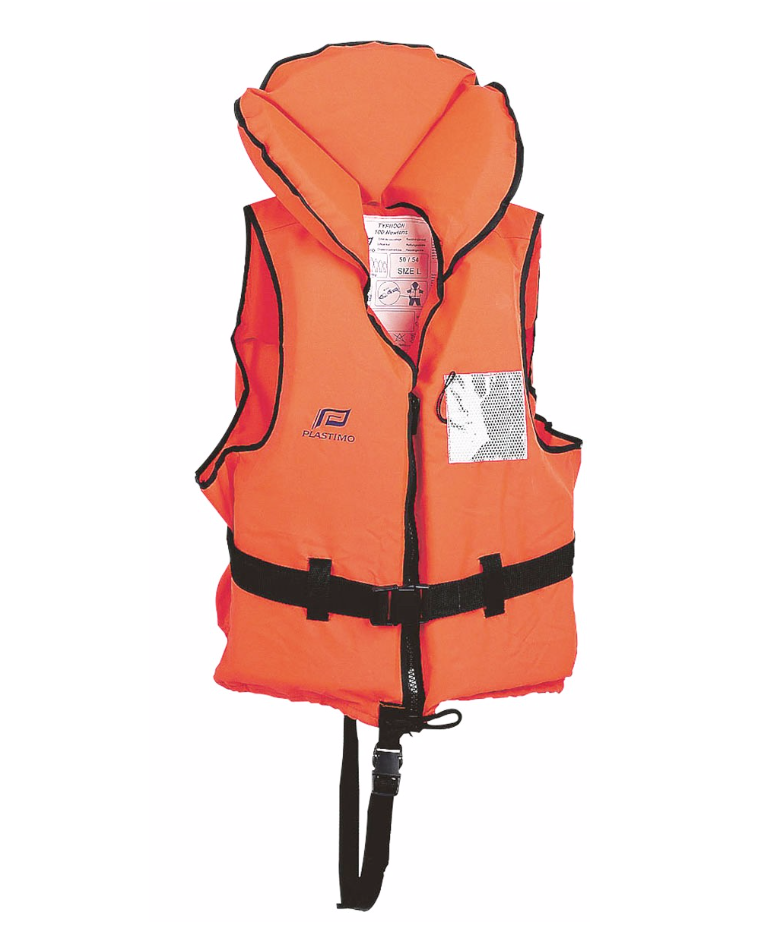 Gilet Typhon plastimo orange 100N