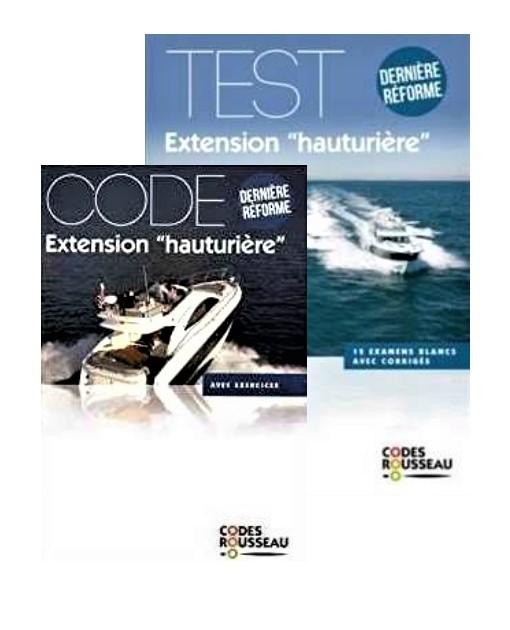 Code+ tests permis hauturier Code Rousseau