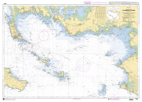 Carte Marine SHOM 9999SA Permis Hauturier
