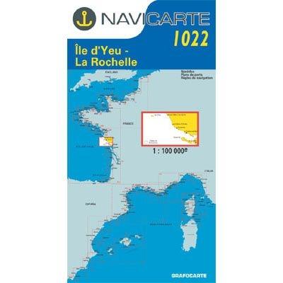 Navicarte - 1022 - Ile d\'Yeu, La Rochelle, Les Sables-d\'Olonne