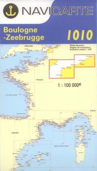 Navicarte - 1010 - Ostende, Boulogne, Pas de Calais, Zeebrugge