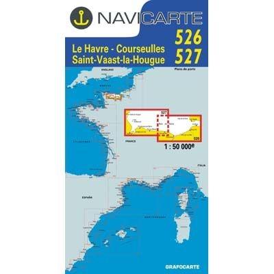Navicarte - 526 + 527 - Le Havre, Saint Vaast, la Houge