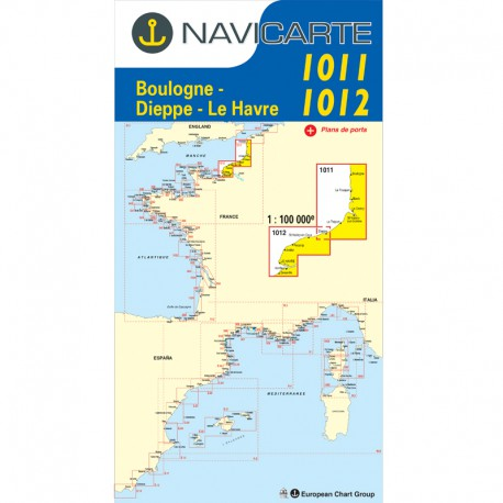 navicarte 1011-1012-carte-marine-pliee