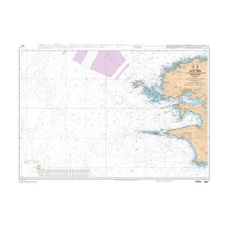 carte shom 7066l-ile-vierge-pointe-penmarc-h-iroise
