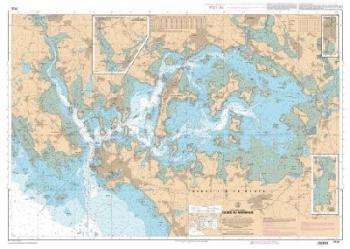 Carte marine SHOM 7137L – Golfe du Morbihan