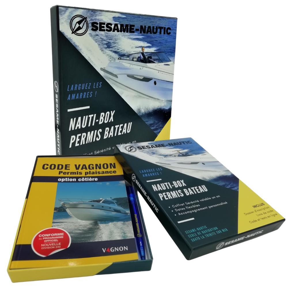 coffret cadeau nauti-box permis bateau côtier