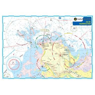 carte-marine-navicarte-mininav-noirmoutier-plastifiée