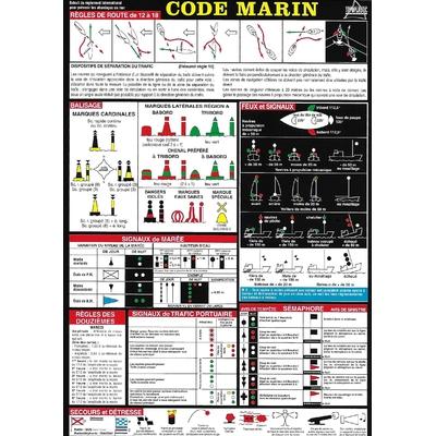 Code marin adhésif
