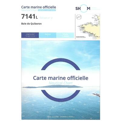 Carte marine SHOM 7141L-Baie de Quiberon