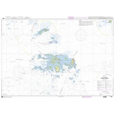 carte marine shom-7252l-iles-des-glenan