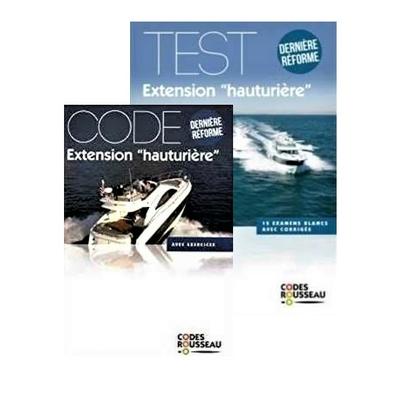 Code Rousseau Hauturier Cours+Test