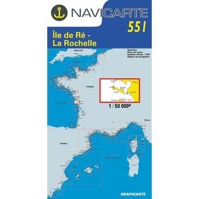 Navicarte - 551 - Ile de Ré, La Rochelle