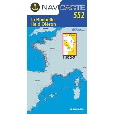 Navicarte - 552 - La Rochelle, Ile d'Oléron