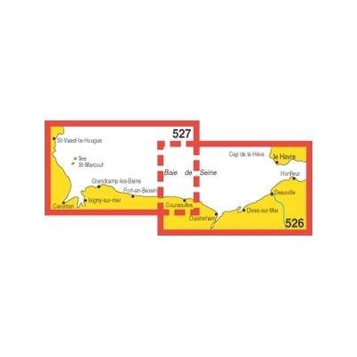 Navicarte - 526 + 527 - Le Havre, Saint Vaast, le Houge zoom