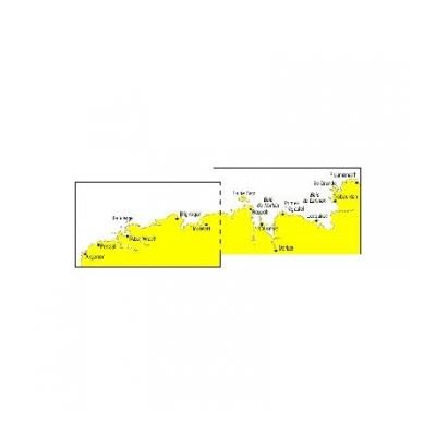 carte double navicarte côte nord finistère