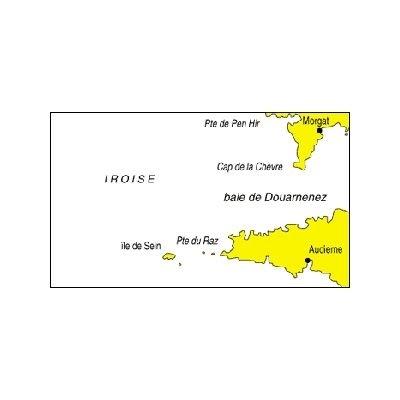 carte marine navicarte mer d'iroise de Morgat à Audierne - Raz de sein