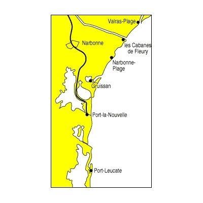Carte marine navicarte 510 - Port Leucate à Gruissan