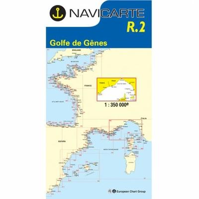 Carte marine Navicarte - R2 Golfe de Gênes