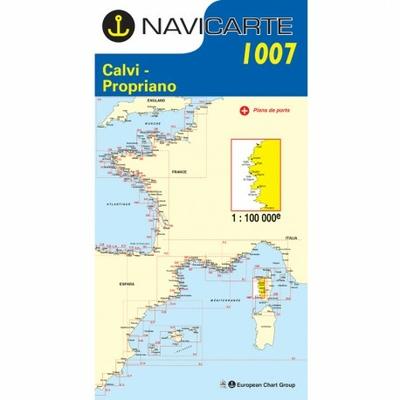 Carte navicarte 1007-Calvi-Propriano