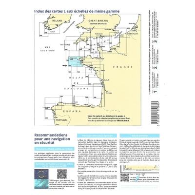 carte shom 7066L-pliée - De l'île viege à la point de Penmarc'h