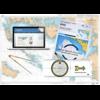 Pack Permis Hauturier-Expert (carte+règle+compas+code et tests hauturier en e-learning)