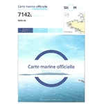 Carte marine SHOM 7142L – Belle-Ile