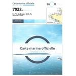 Carte marine SHOM 7032L – De l'île de Groix à Belle-île
