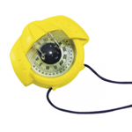 Compas de route et de relèvement iris 50 couleur jaune plastimo