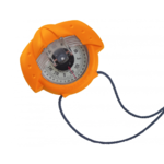 Compas de route et de relèvement iris 50 couleur orange plastimo