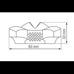 Dimension Compas de route et de relèvement iris 50  plastimo