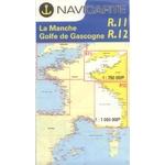 Navicarte - R11 + R12 - La Manche + Golfe de Gascogne