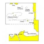 Carte navicarte double de Granville à St Cast