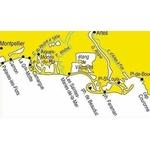 Carte marine Navicarte 500 de port de bouc à palavas
