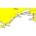 Carte marine Navicarte de Port camargue à Sète. jpg