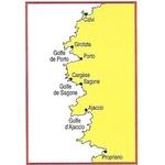 carte marine navicarte Corse ouest détails calvi-propriano