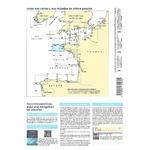 carte shom 7066L-pliée - De lîle viege à la point de Penmarch
