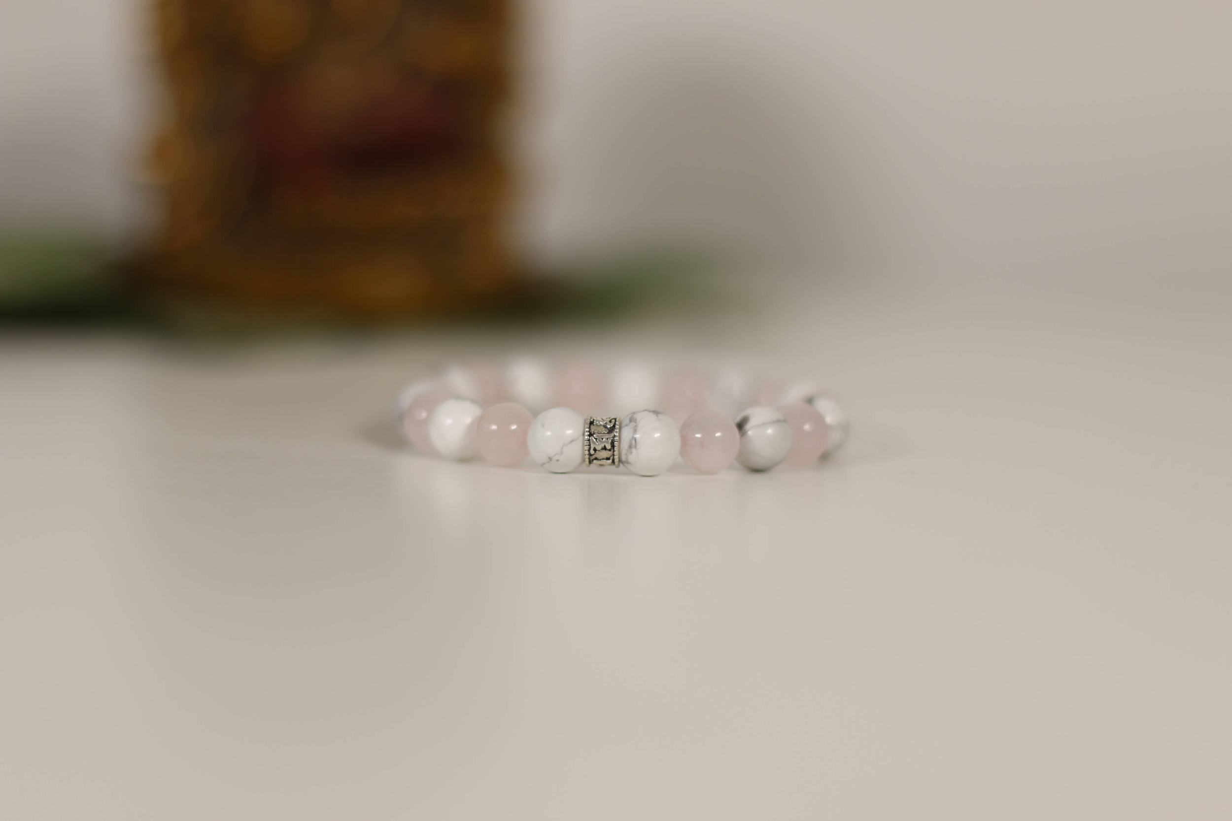 howlite quartz rose4