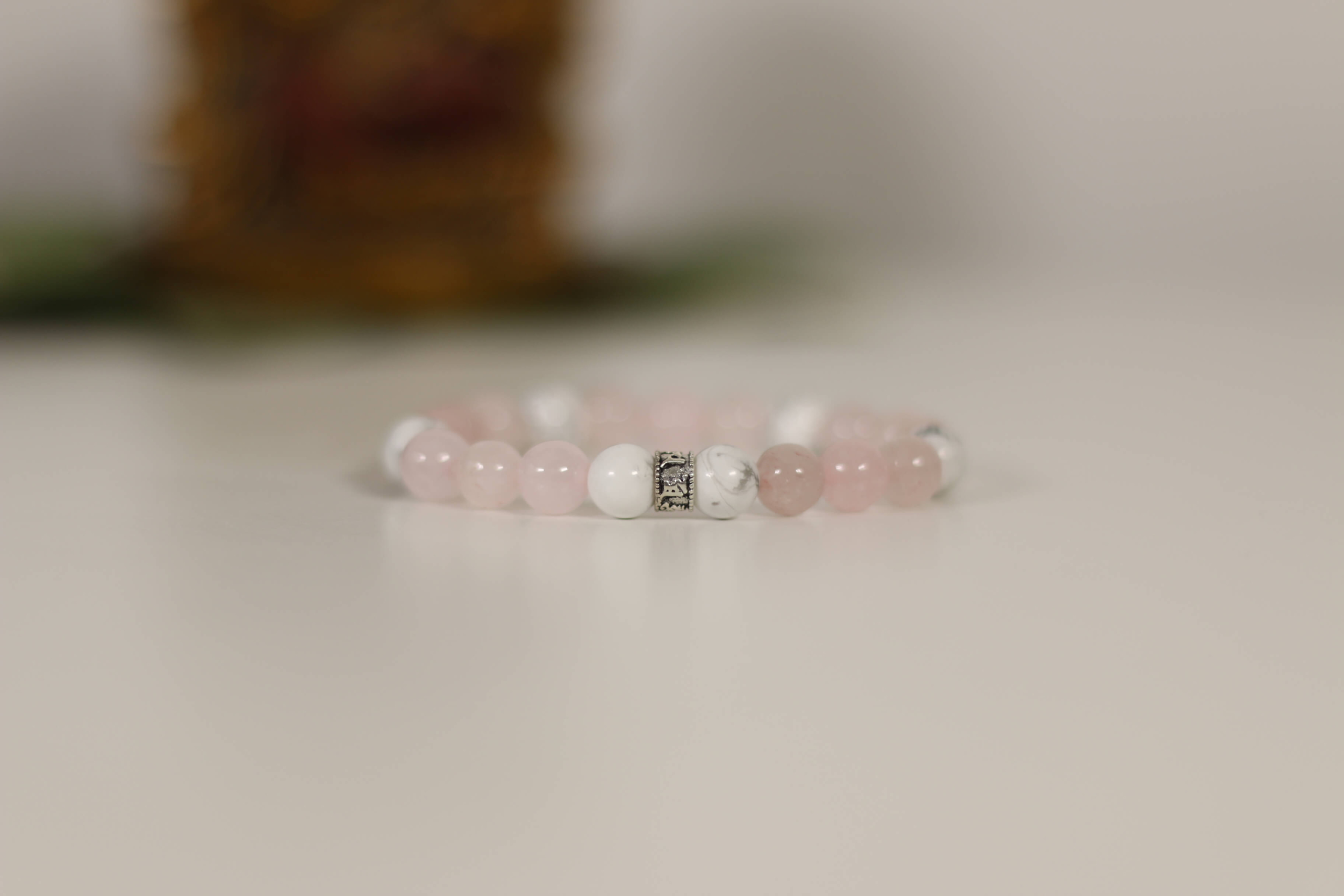 QUARTZ ROSE HOWLITE