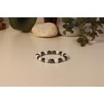 Bracelet Bouddha Howlite 1 Hématite 1