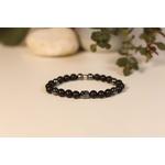 Bracelet Bouddha Pierre de lave 3 Hématite 1