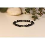 Bracelet Bouddha Pierre de lave 3 Hématite 2