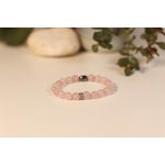 Bracelet Bouddha Quartz Rose 2