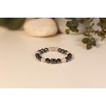 Bracelet Bouddha Hématite Quartz Rose 1
